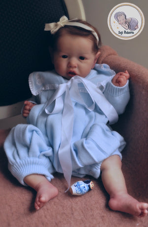 Custom reborn saskia baby doll,saskia by bonnie brown