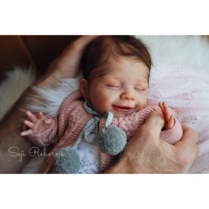 Reborn Baby doll, Lifelike baby doll, reborn baby doll for sale, April by Joanna Kazmierczak doll