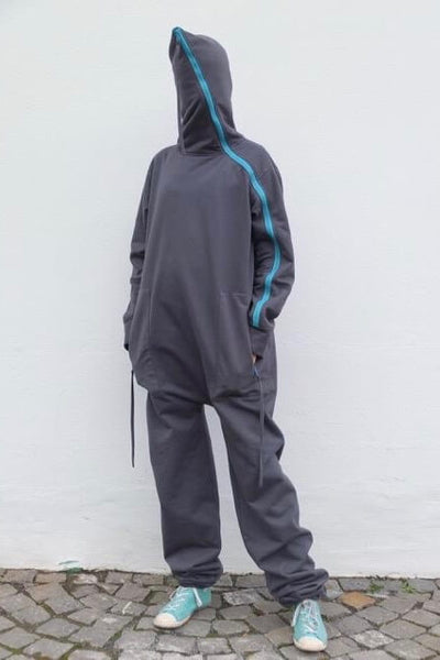 No14 Schnittmuster Overall unisex