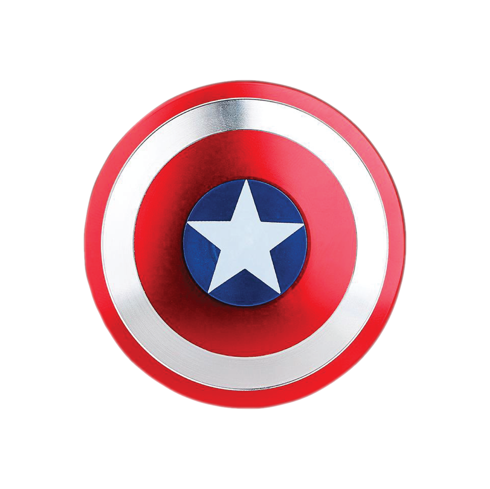 Captain America Shield Metal EDC Hand Fidget Spinner