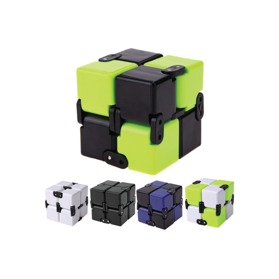 Infinity Cube Magic Fidget Cube EDC Anxiety Stress Relief Finger Toy Adult Kids Hand Out Door Game Toys Gift