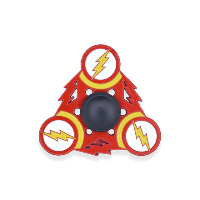 New The Flash Fidget Spinner Version Four
