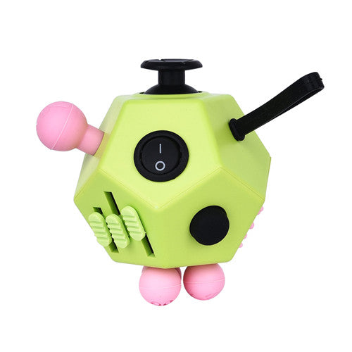 2017 New Fidget Cube 12 Sides Cube