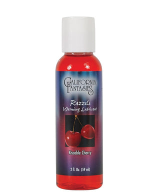 Razzels Warming Lubricant - 3 Flavors - 2 oz