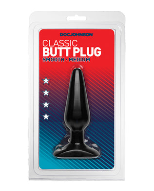 Classic Butt Plug - Medium