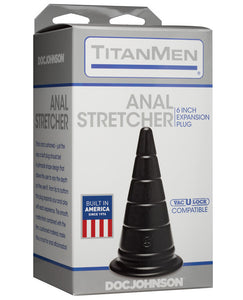 "Titanmen 6"" Anal Stretcher - Black"