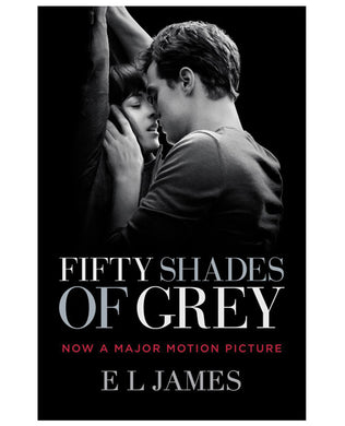 Fifty Shades of Grey Book - Movie Cover