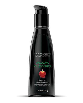 Wicked Sensual Care Aqua Water Based Lubricant - 4 oz