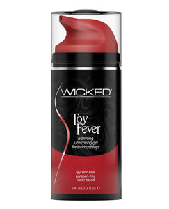 Wicked Sensual Care Toy Fever Water Based Warming Lubricant - 3.3 oz