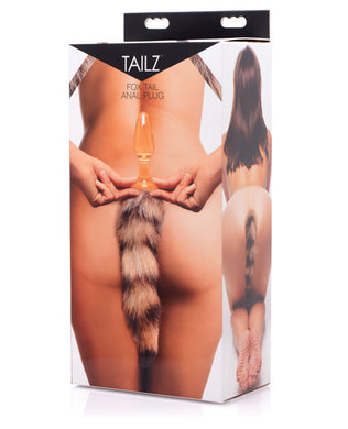 Tailz Fox Tail Glass Anal Plug