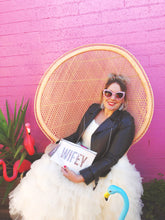 WIFEY wedding clutch