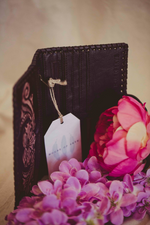 Leather Wallet Sunflower