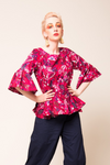 Poppy Ruffle Top