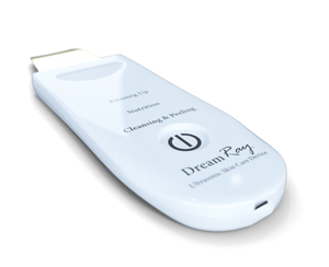 Dream Ray Ultrasonic Skincare and Scalp Care Scrubber
