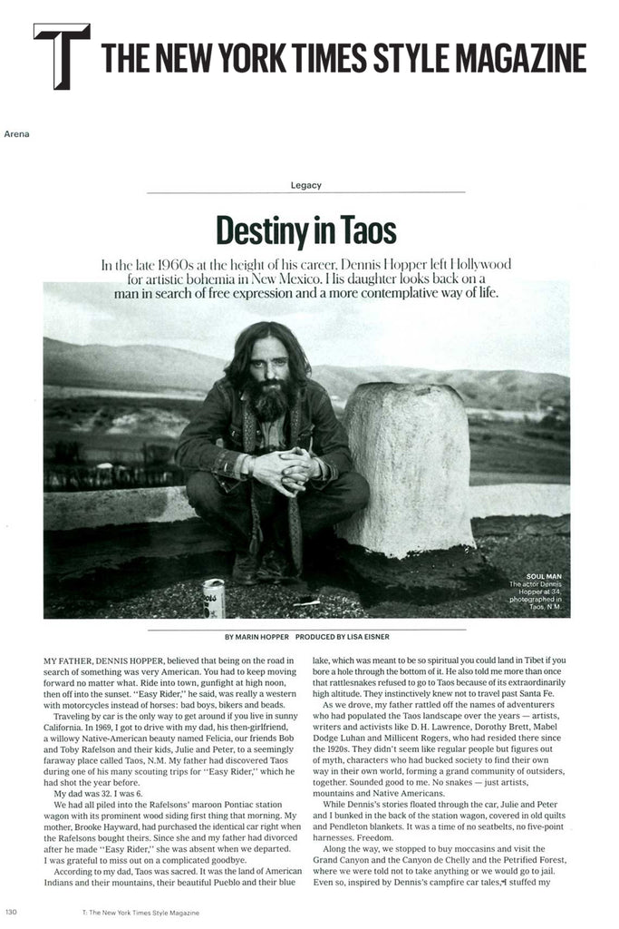 Hayward's Marin Hopper reflects on Dennis Hopper's love for Taos