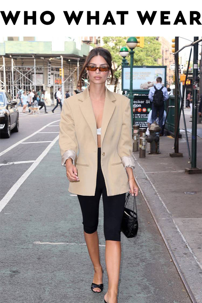 Emily Ratajkowski Re-Created Carrie Bradshaw's Controversial Outfit in NYC