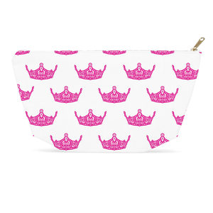 Miss America Crown style Accessory Bag