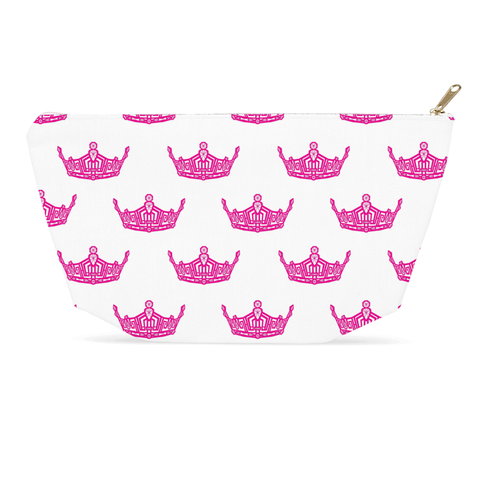 Image of Miss America Crown style Accessory Bag