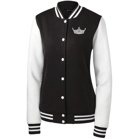Miss Clark County - Women's Fleece Letterman Jacket