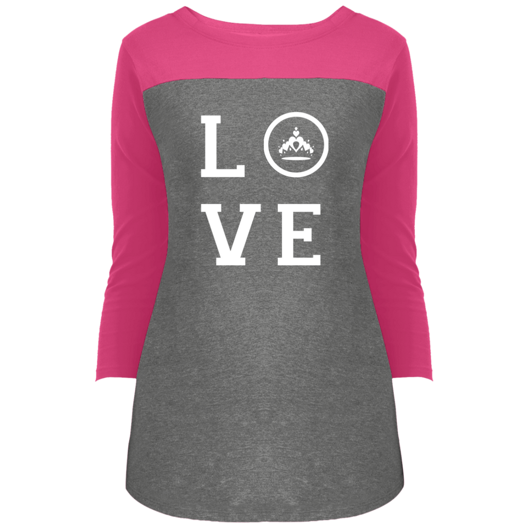 Pageant Love - 3/4 Sleeve T-Shirt