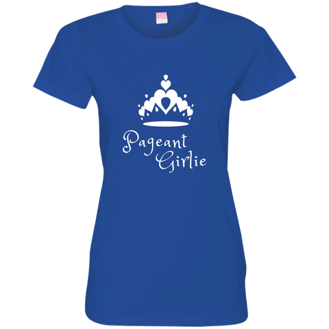 Image of Pageant Girlie -  Fine Jersey T-Shirt