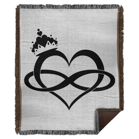 Forever My Queen - Woven Blanket - 50x60