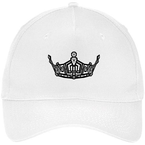 Miss Clark County Crown Five Panel Twill Cap