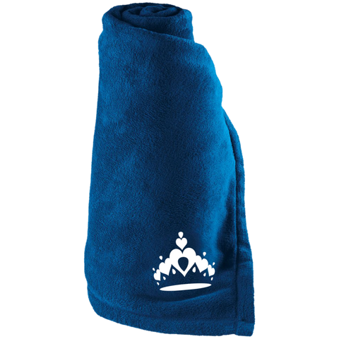 Tiara - Large Fleece Blanket
