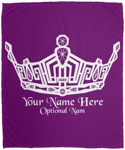 Miss Clark County - Personalized - Micro Fleece Blanket - 50x60