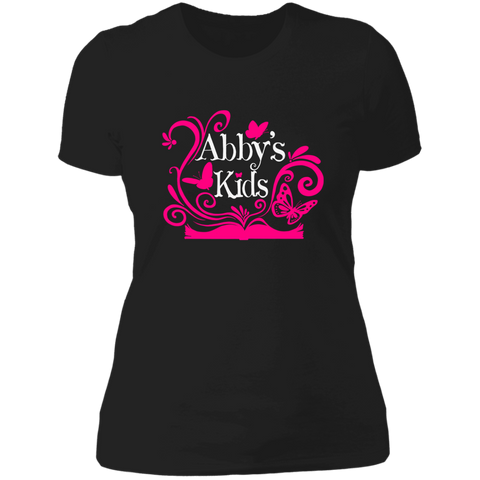 Image of Abby's Kids - Ladies' Boyfriend T-Shirt