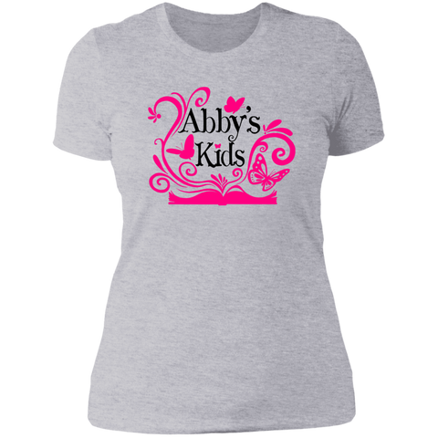 Abby's Kids - Ladies' Boyfriend T-Shirt
