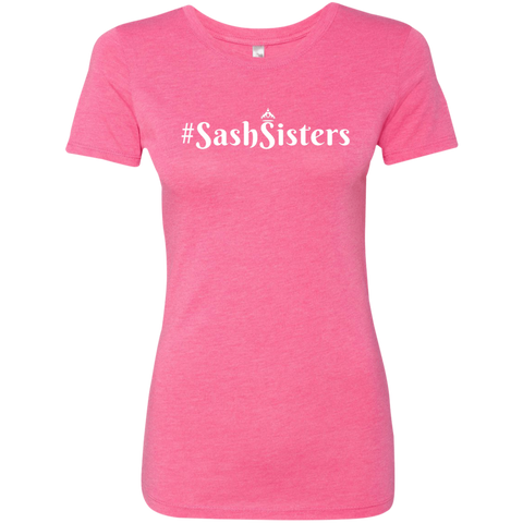 Image of #SashSisters Triblend T-Shirt