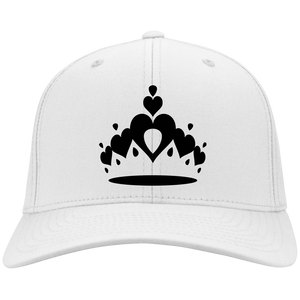 Pageant Girlie Embroidered Crown Baseball Cap