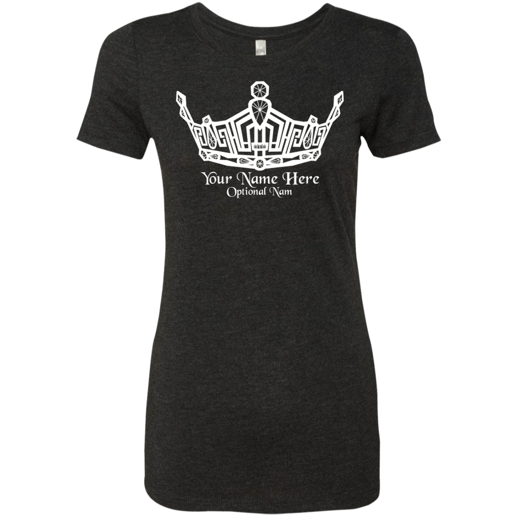 Miss Clark County - Personalized Name - Triblend T-Shirt