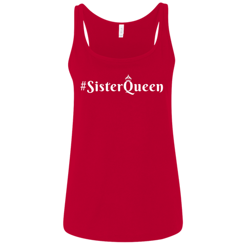 #SisterQueen Relaxed Jersey Tank