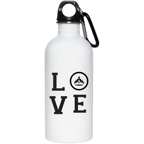 Pageant Love 20 oz. Stainless Steel Water Bottle