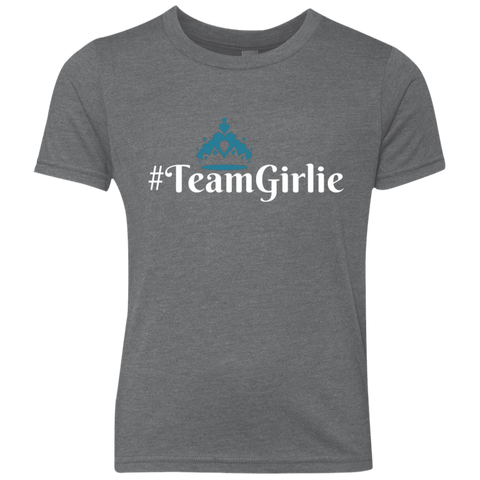 Team Girlie Youth Triblend Crew