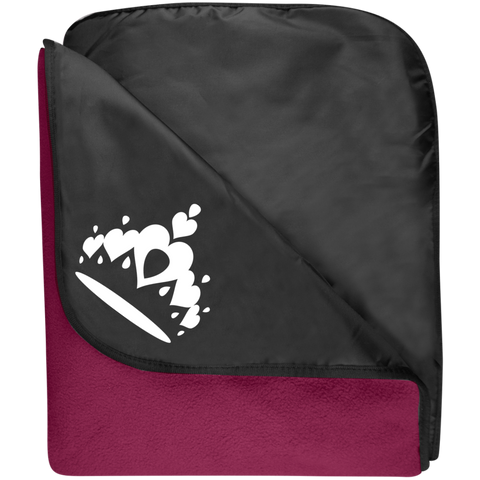 Tiara - Port Authority Fleece & Poly Travel Blanket