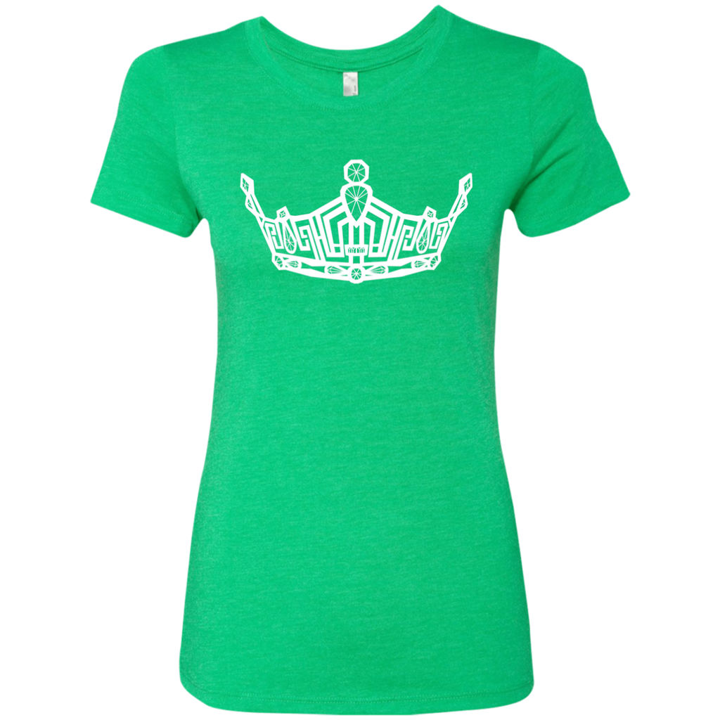 Miss Clark County crown - Triblend T-Shirt