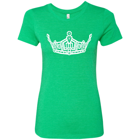 Image of Miss Clark County crown - Triblend T-Shirt
