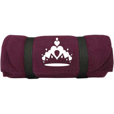Tiara - Port & Co. Fleece Blanket