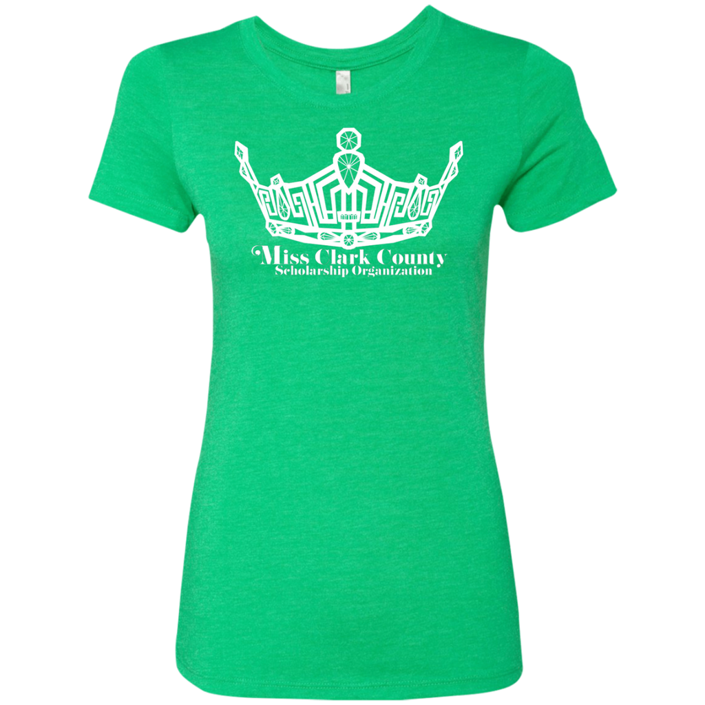 Miss Clark County - Personalized Triblend T-Shirt