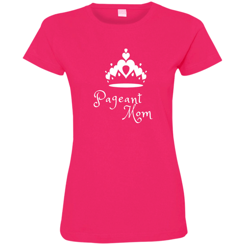 Image of Pageant Mom - Fine Jersey T-Shirt