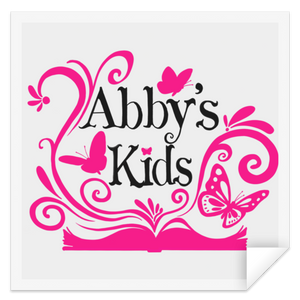 Abby's Kids -  Square Sticker
