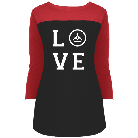Image of Pageant Love - 3/4 Sleeve T-Shirt