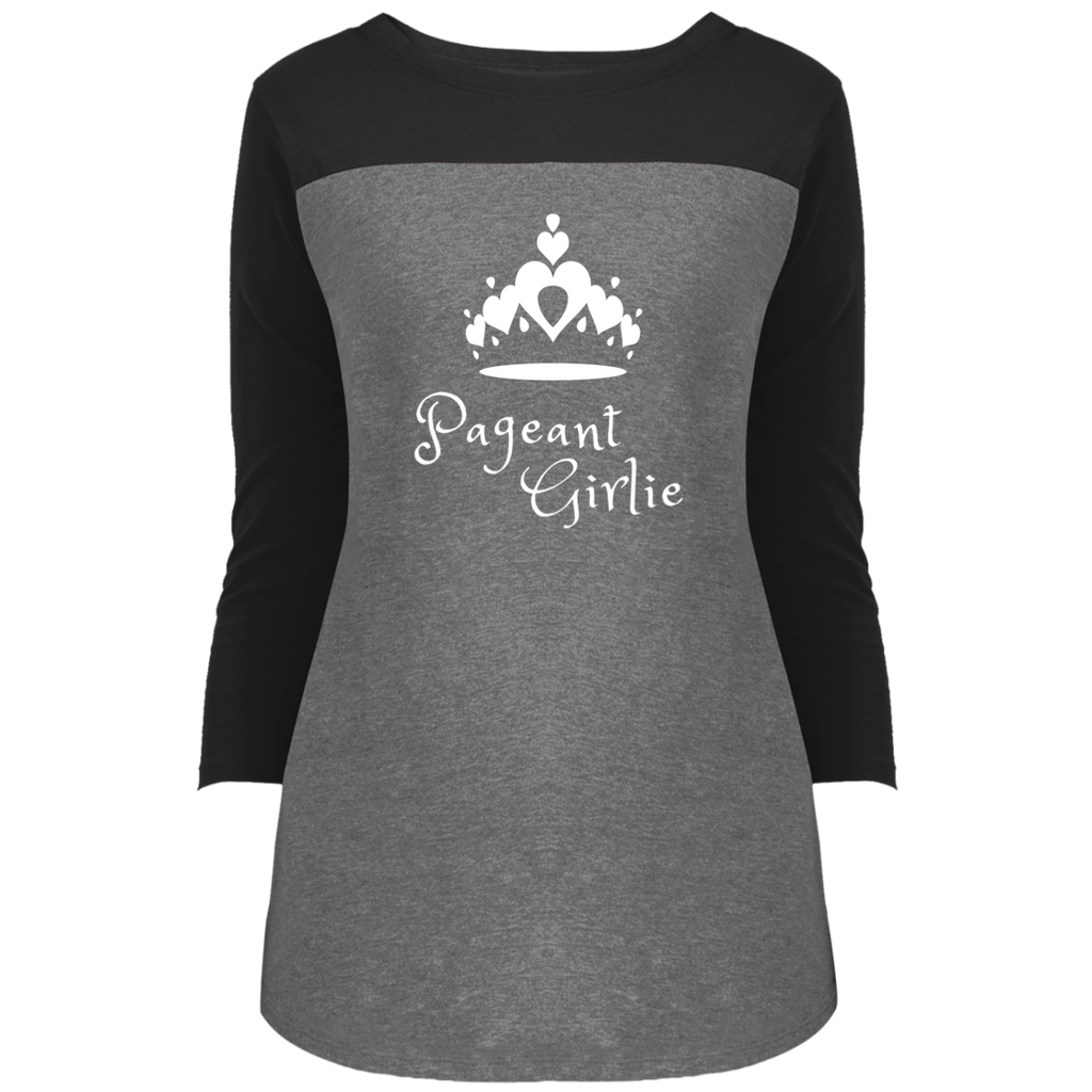 Pageant Girlie -  3/4 Sleeve T-Shirt