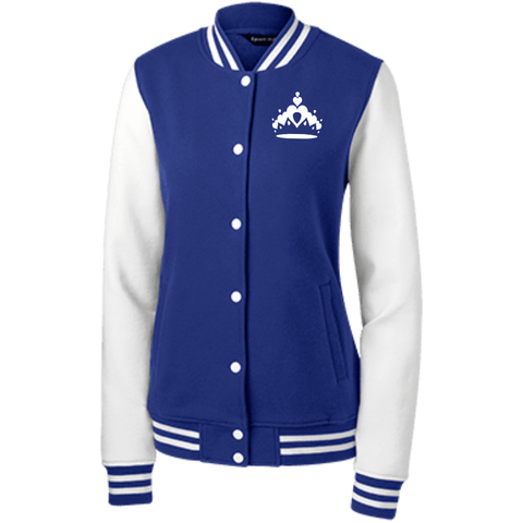 Image of Tiara Women's Fleece Letterman Jacket