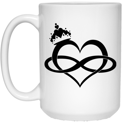 Forever My Queen -15oz White Mug