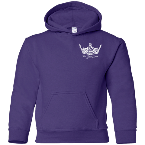 Miss Clark County Personalized - Youth Pullover Hoodie