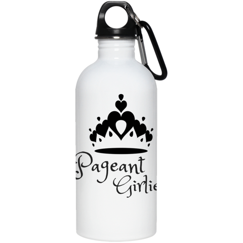 Pageant Girlie - 20 oz. Stainless Steel Water Bottle